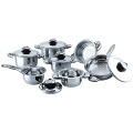 Wide edge 13pcs cookware set Germany