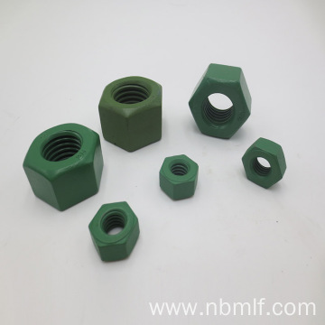 16 Heavy Hex Nuts ASTM A194 Grade 2H