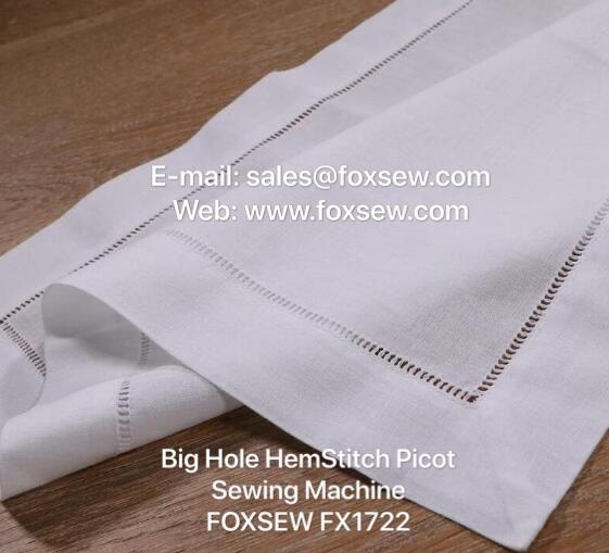 Big Hemstitch Picoting Sewing Machine -3