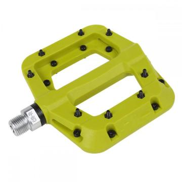 Universal Bicycle Pedals Flat Nylon Platform 9/16 Inch