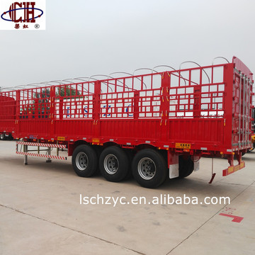 Tri-axle High Platform Semi Trailer