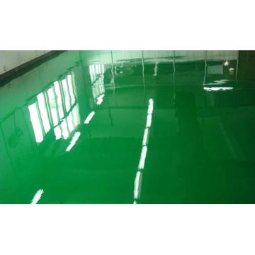 Epoxy self-leveling sterile room floor paint