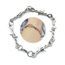 Barbed Wire Thorny Bracelet Barbed Wire Thorny Chain Winding Chain Bracelet Fashion Jewelry Rock Night Club Unisex Bracelet