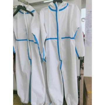 Disposable medical gown protective suit