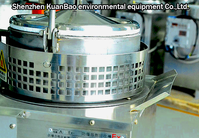 Solvent Recycling Equipment for Etching