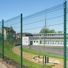 Garden PVC galvanized welded wire mesh fencing