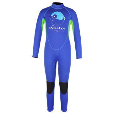 Seaskin Boys Long Sleeves Underwater Diving Wetsuits