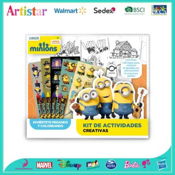 MINIONS 30 pieces colouring set