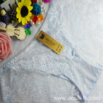 OEM wholesale China cheap white sexy girl slimming lace cotton fancy underwear 515