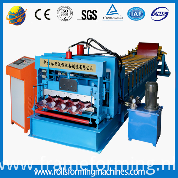 hydraulic pressing roll forming machine