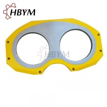 Putzmeister Concrete Pump Spectacle Wear Plate