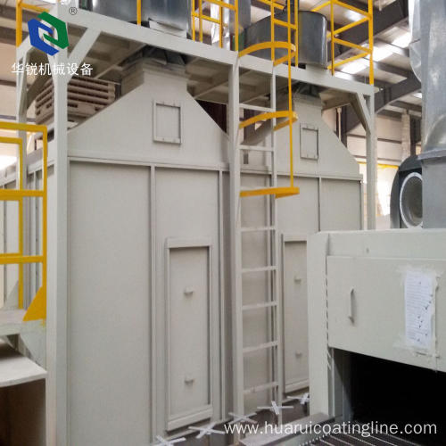 High Efficient Recycling Automatic Aluminum Powder Coating Line