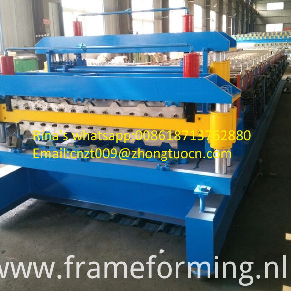 steel sheet roof sheet roll forming machine line 22