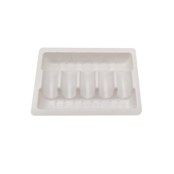 Custom PVC Medical Blister Vial Ampoule Inner Tray