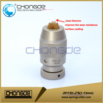 High precision J0113H-JT6 Keyless Drill Chuck