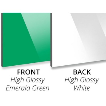 High Gloss Emerald Green Aluminium Composite Panel
