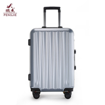 wholesale  abs luggage  wheeled trolley