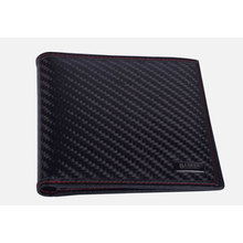 Carbon fiber short shape wallet