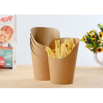 Chicken French Fries in Kraft Paper Box