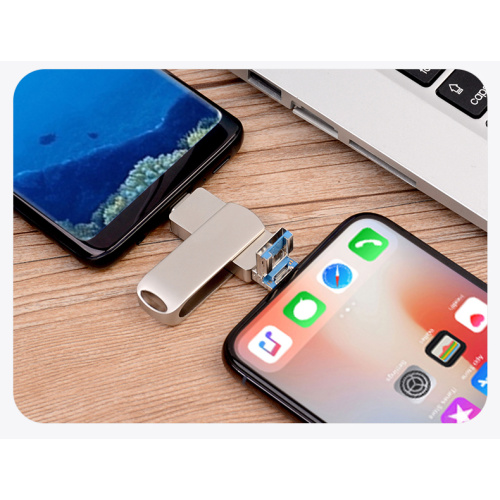 3 IN 1 USB Flash Drive For Iphone