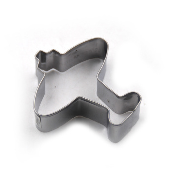 Stainless Steel Plane Shape Cookie Cutter