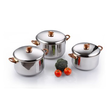 Stainless Steel Cookware Pot Set Soup Pot