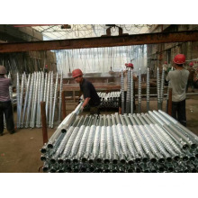 Galvanizing Ground Spike Pile