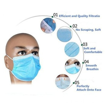 general Medical Materials face mask medical supplies