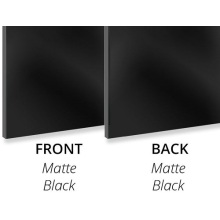 Aluminium composite panel Matte Black