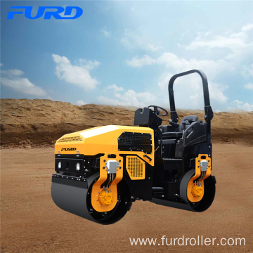 Hydraulic Steering 3 Ton Vibratory Light Tandem Roller