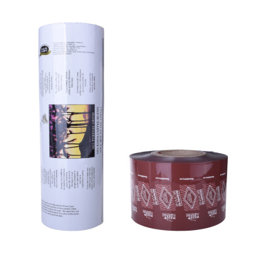 good quality customized printing roll film for foods