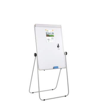 Double Sided Whiteboard 360 Degrees Rotated Flipchart Easel