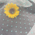 Fashion Polka DOT Embroidery Organza Tulle Fabric