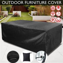 Waterproof Outdoor BBQ Table Chair Cover Garden Patio Furniture Cover Anti Dust Rain Proof BBQ Accessories