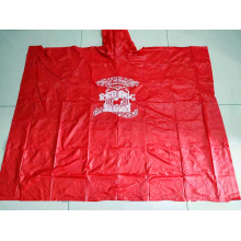 adult reusable pvc rain poncho