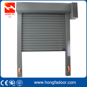 Electrical Aluminum Alloy Metal High Speed Roller Door