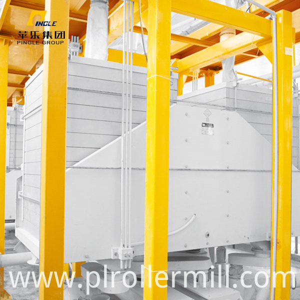 Edible flour mill plansifter