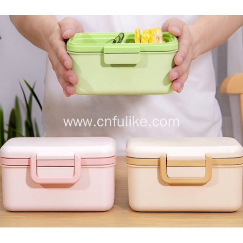 Eco Friendly Bamboo Fiber Food Storage Box