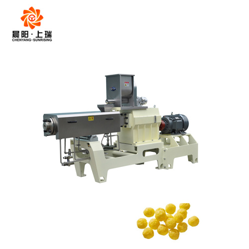 Extruded snack ring machines Corn puff extruder machine