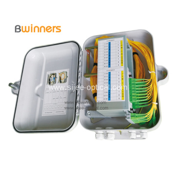 Waterproof Plastic Fiber Optic Distribution Box 1*32 PLC
