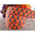 "17102522,New arrival 7/8"" (22mm) 10 yards/lot pineapple printed grosgrain ribbons cartoon ribbon DIY handmade materials"