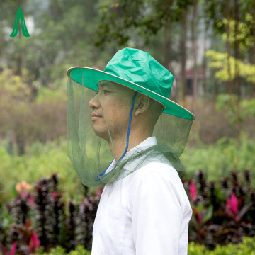 New Camping Green Anti Mosquito Head Net