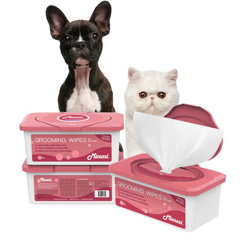 Non-woven Fabric Bamboo Pet Wipes For Deodorizer
