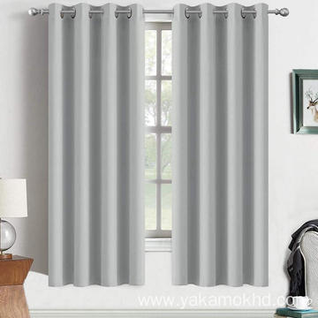 Light Grey Blackout Curtains 72 Inch Long
