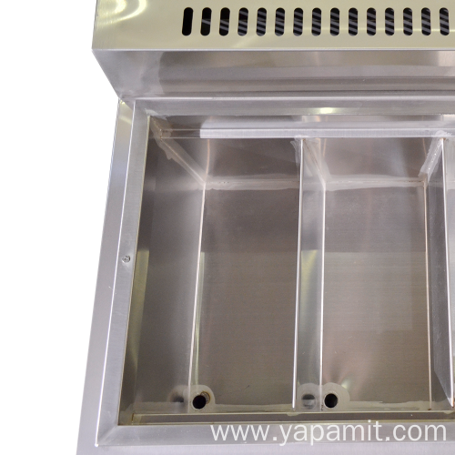Cabinet Type Six Basket Gas Pasta Cooker
