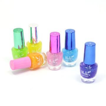 Kids Water-based Pastel Glitter Nail Polish (Girls & Women)