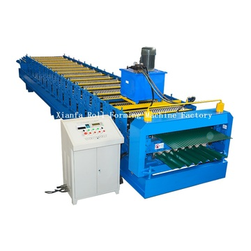 Double Deck Corrugated Forming Machine