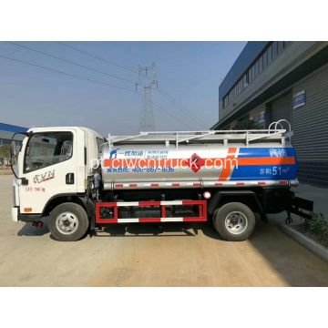 2019 New FAW 6000litres Fuel Bowser para venda