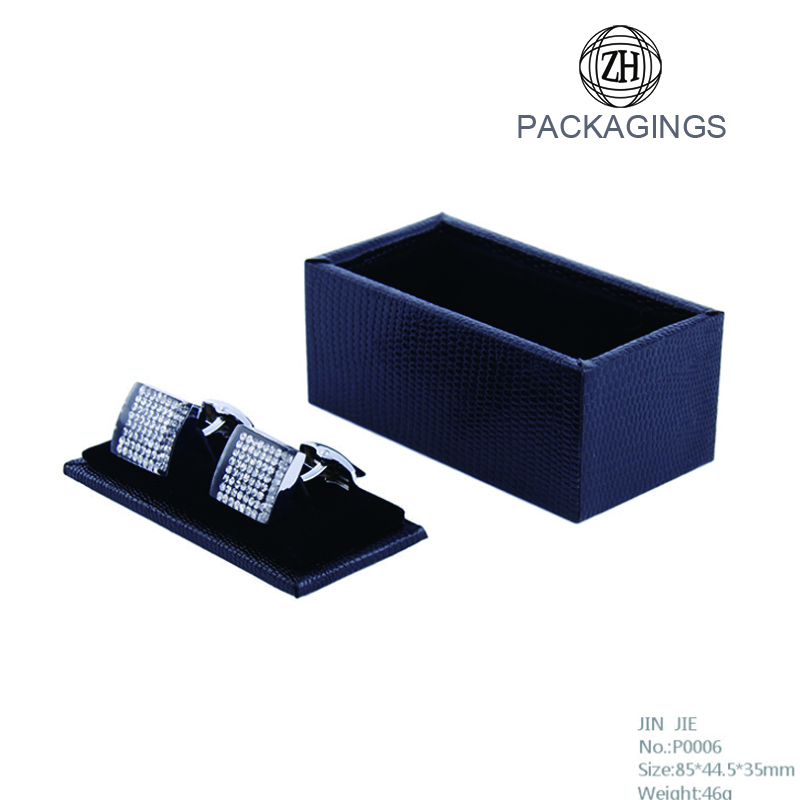 Customized Cardboard Cheap Cufflink Box