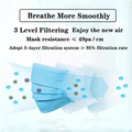 3 Ply Non-Woven Disposable Medical Mask